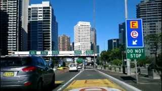 Driving into Sydney CBD from the North Shore
