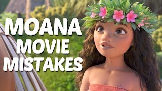 10 Biggest Disney Moana MOVIE MISTAKES You Didn