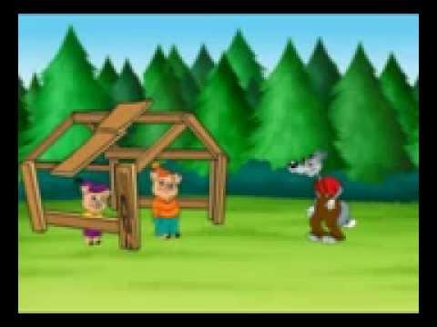 Os três porquinhos Histórias contadas
