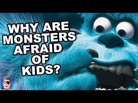 Pixar Theory Why Are Monsters Told Kids Are Toxic