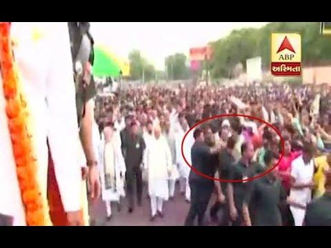 Xxx Mp4 SPG Commando Remove People Nearby PM Modi At Atalji Last Funeral 3gp Sex