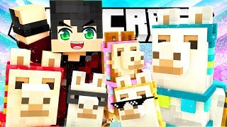 THE LLAMAS ARE TAKING OVER! | The Deep End Minecraft Survival | Episode 4