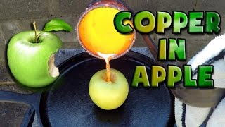Molten Copper vs Apple