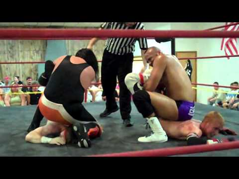tagteam jobbers double backbreaker submission