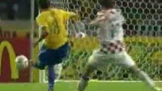 World Cup 2006 (group F) Brazil vs. Croatia (1-0)