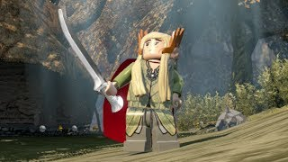LEGO The Hobbit - Unlocking Thranduil w/ Free Roam Gameplay