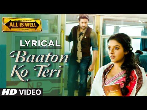 'Baaton Ko Teri' Full Song with LYRICS | Arijit Singh | Abhishek Bachchan, Asin | T-Series