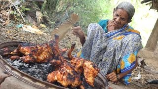 Roasted Chicken in Village Style || My Grandma