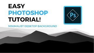 ADOBE PHOTOSHOP TUTORIAL - Minimalist Wallpaper Tutorial [HD]