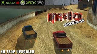 Mashed: Fully loaded - Gameplay Xbox HD 720P (Xbox to Xbox 360)