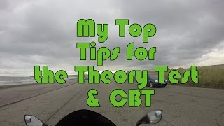 My Top Tips for the Theory Test & CBT  - Kawasaki ER6f / Ninja 650 - MotoVlog