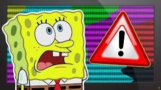 Continuity Errors in Spongebob Squarepants