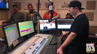 Jay Park Live In Studio with Eric Rosado - KUBE 93.3