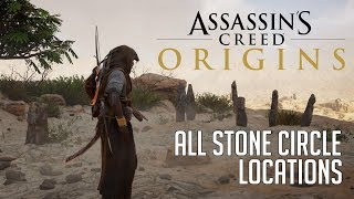 Assassin's Creed Origins All Stone Circle Locations (Bayek's Promise Side Quest)