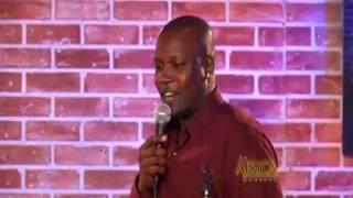 Ugandan Comedian Sidney Sir @The Africa Laughs T.V Show.