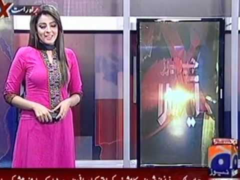 Sexy and Beautiful Pakistani News Anchor