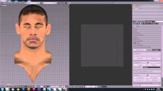 PES 2014 Facemaking Tutorial 1: Setting up the face in Blender