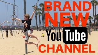 BRAND NEW YOUTUBE CHANNEL?!?! Santa Monica Swings - Keeping up with Ky [HD]