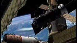 MIR Space Station collision