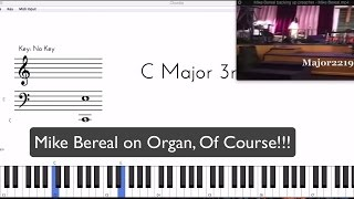 These preacher chords are ridiculous | Mike Bereal backing up Glenn Gibson | Download MIDI for ideas