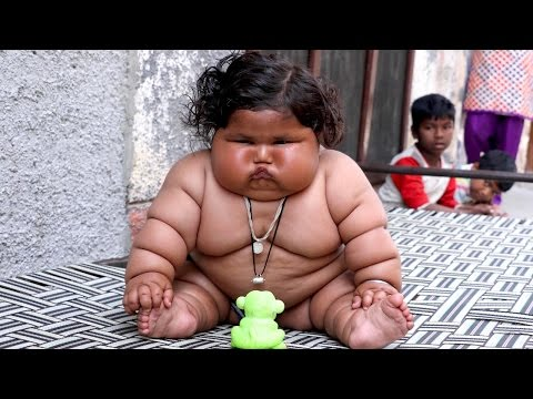 Giant 8-Month-Old Baby Weighs 38lbs: BORN DIFFERENT
