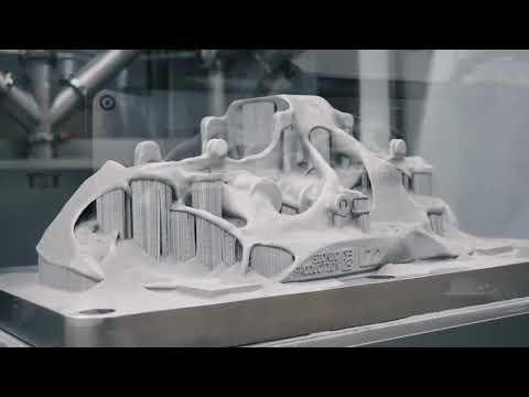 Xxx Mp4 Bugatti Brake Calipers 3D Printed With SLM Solutions 3gp Sex