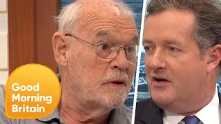 Piers Argues With Obesity Campaigner Over Smelly Food on Public Transport | Good Morning Britain