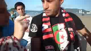 الجزائريون ينشرون ثقافة الشمة في البرازيل والبداية بفتاة ارجنتينية ههههههههههههههههه low