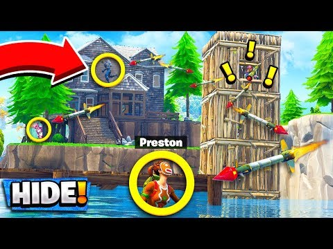 NEW GUIDED MISSILE HIDE & SEEK Custom Gamemode in Fortnite Playground Mode