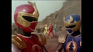 "Power Rangers Ninja Storm - Power Rangers meet the Thunder Rangers | Episode 5 ""Thunder Strangers"""