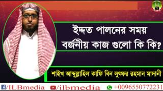 Iddot Paloner Somoy Borjonio Kaj Gulo Ki Ki?  Sheikh Abdullahil Kafi Bin Lotfur Rahman