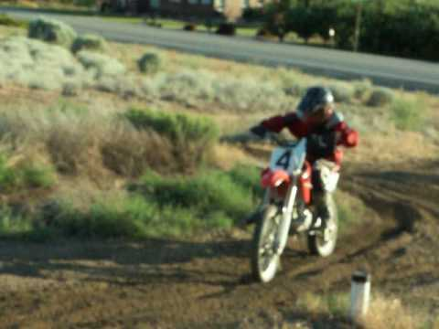 Xxx Mp4 10 Year Old Kicking His Dad S Butt On CRF150Race 3gp Sex