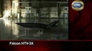 DARPA Falcon hypersonic X-plane - part 1