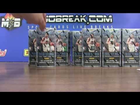 6/13 - 2016-17 Panini NBA Studio 8 Box Case eBay Break PYT #1