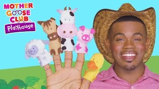 Animal Sounds | Old MacDonald Had A Farm | Mother Goose Club Playhouse Kids Video