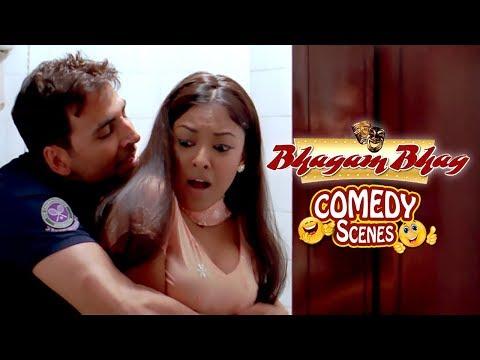 Xxx Mp4 Akshay Kumar Flirts With Tanushree Dutta Comedy Scene Bhagam Bhag 2006 3gp Sex