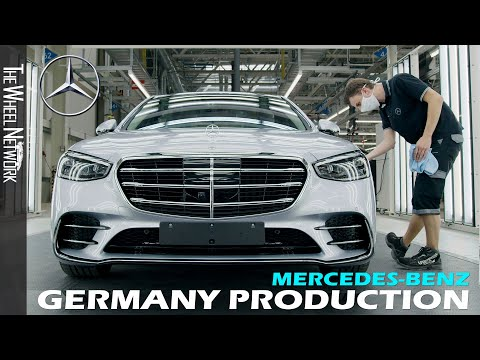 Mercedes Benz Production in Germany