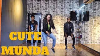 Cute Munda  Sherry Mann Lyrical Bhangra  Bhangra Choreography The Dance Mafia