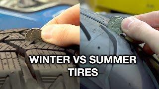 Winter vs Summer Tires - What