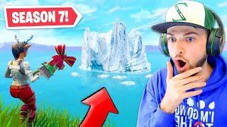 The *NEW* ICEBERG in Fortnite! (SEASON 7)