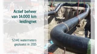 Ons werk, een jaar in beeld - Evides Waterbedrijf in 2015