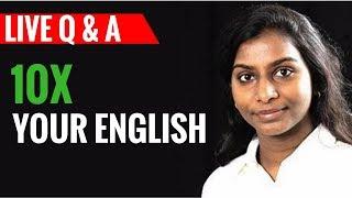 🎯⚡10X Your English: Q&A With Lavanya Jayakumar