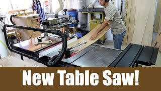 New Table Saw!