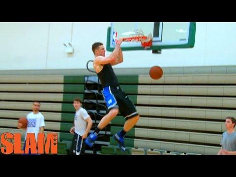 Marshall Plumlee 2016 NBA Draft Workout - Duke Basketball - #16NBACLH