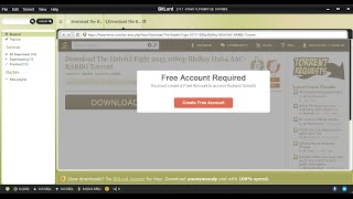 You must create a Free Account to access KickassTorrents (FIXED) 2016