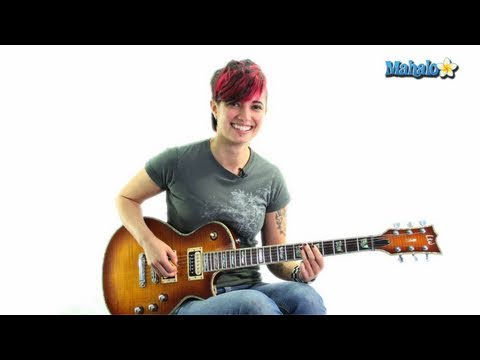 """How to Play """"The Man Who Can't Be Moved"""" by The Script on Guitar"""