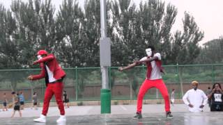 Shenyang Aerospace Univesity Dancing competitioin...(Chingy Wale and Ibrahim)