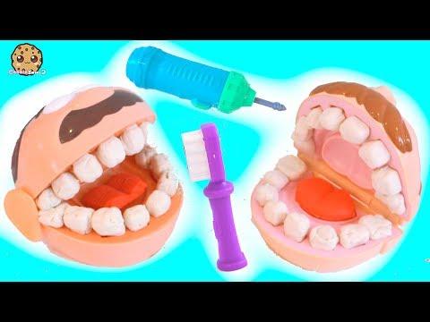 Xxx Mp4 Dentist Doctor Barbie Drills Fills Patients Teeth Play Doh Tooth Maker Playset 3gp Sex