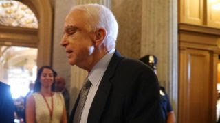 Sen. John McCain returns to cast health care vote