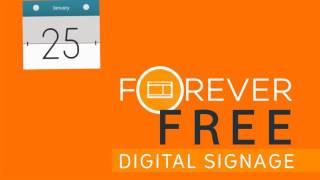 Free Digital Signage For ever